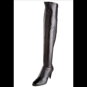 'Chinese Laundry' Thigh High Boots - Black